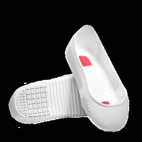 Overshoes non-slip sole SUPER-GRIP white size L
